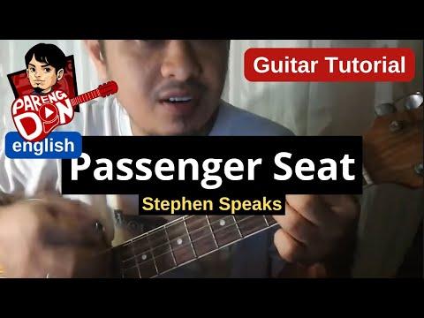 Guitar Tutorial Passenger Seat Stephen Speaks Youtube Musicbaby