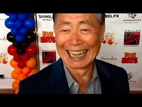 "George Takei Talks Turkey at ""Free Birds"" Premiere [HD]"