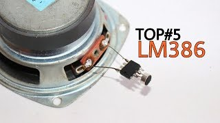 TOP 5 Electronics Projects using LM386 | Amazing projects