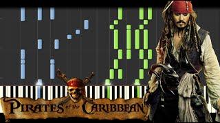Pirates of the Caribbean Medley [Piano Tutorial] (Synthesia) // Kyle Landry + SHEETS/MIDI