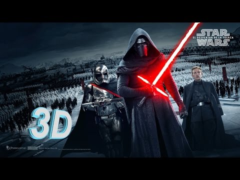 3D | Star Wars: Episode VII in 3D Teaser Trailer Full-HD 1080p