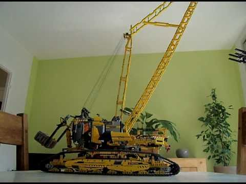 lego technic 8043 a voir absolument bulldozer pelle chargeuse autres modeles youtube. Black Bedroom Furniture Sets. Home Design Ideas