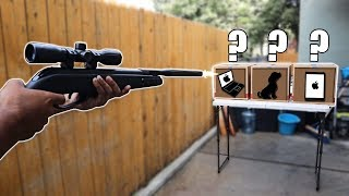 WHICH WOULD YOU SHOOT??? 😱 (DON'T SHOOT THE WRONG BOX CHALLENGE!!)