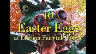 10 EASTER EGGS at Efteling Fairytale Forest