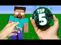 Realistic Minecraft - TOP 5 BEST EVER EPISODES COMPILATION!