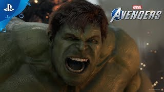 Marvel's Avengers - A-Day Prologue Gameplay Footage | PS4