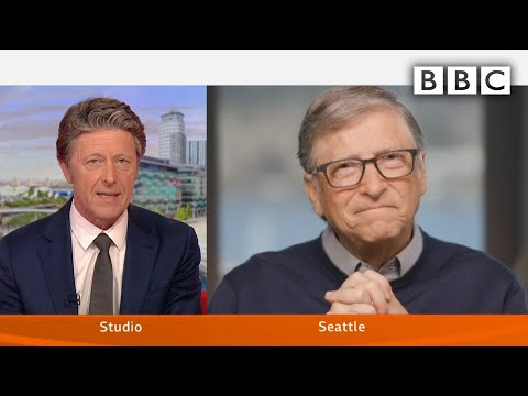 Coronavirus: Bill Gates interview @BBC Breakfast - BBC