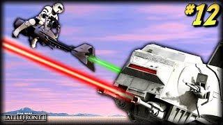 Star Wars Battlefront 2 - Funny Moments #12 (Speeder Bike Random Moments!)
