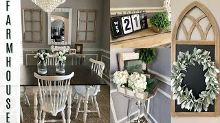 DINING ROOM MAKEOVER | FARMHOUSE