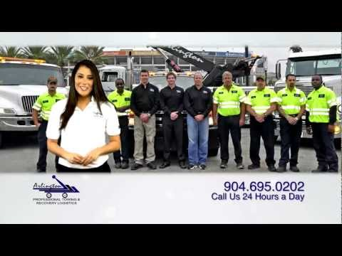 Heavy Haul Transport Services in Jacksonville Florida - Arlington Wrecker
