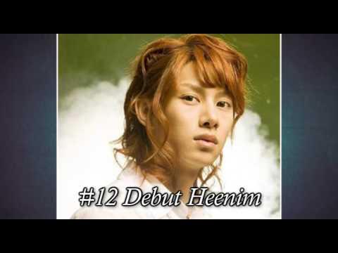Top 20 Kim Heechul Hair Styles!