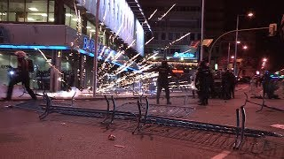 Столкновения с полицией в Мадриде