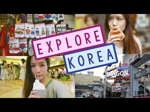 Explore KOREA With Me | Korean Shopping, Street Food & Culture 한국 여행 기록