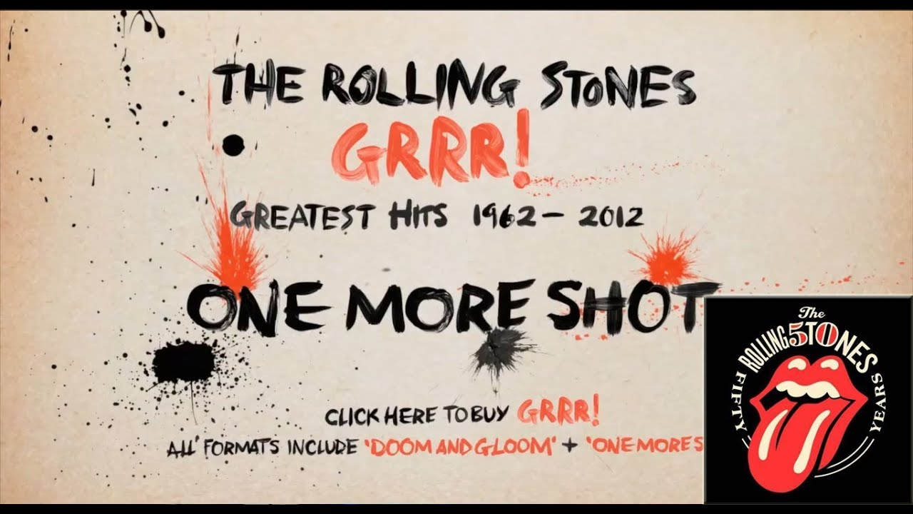 The Rolling Stones One More Shot Official Audio Video