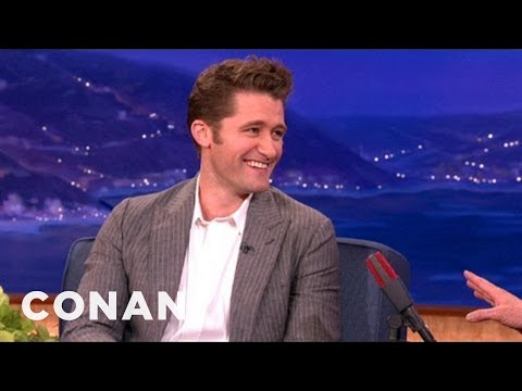Matthew Morrison's First Kiss Was A Threesome - CONAN on TBS
