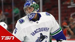 How did the Canucks find themselves in this goalie situation?