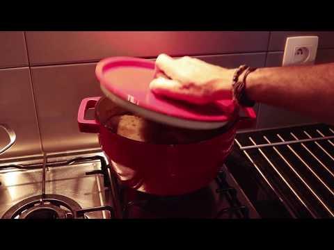 Het bereiden van stoofvlees