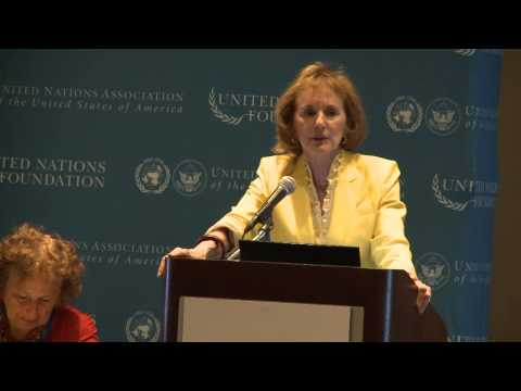 Gillian Sorensen: 2013 UNA-USA Annual Meeting - YouTube