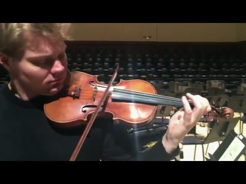 Atlanta Symphony Orchestra: David Coucheron - Preparing for the monumental Brahms Violin Concerto