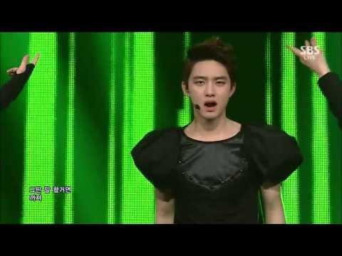 엑소 (EXO) [늑대와 미녀] @SBS Inkigayo 인기가요 20130617