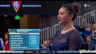 Kyla Ross (UCLA) - Balance Beam (9.900) - Ohio State at UCLA 2018