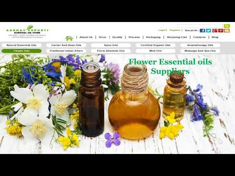 Essential oil manufacturers @ Aroma Essential Oil Store