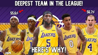 Here's WHY The Los Angeles Lakers are the DEEPEST TEAM In the NBA! Lakers News