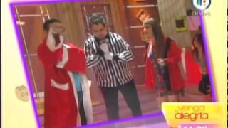 Jimena La Choco enseña los calzones en Venga la Alegria