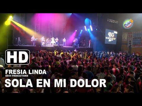 SOLA EN MI DOLOR Fresia Linda Concierto 2015 HD