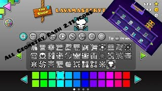 All Geometry Dash 2.11 Icons and new features! | New update!