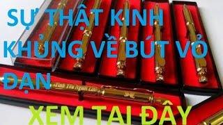 Sự thật kinh khủng về bút vỏ đạn bạn biết chưa???