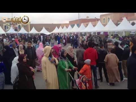إقبال كثيف على معرض إمعشار