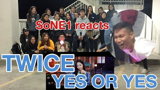 """TWICE """"YES or YES"""" M/V Reaction by SoNE1"""