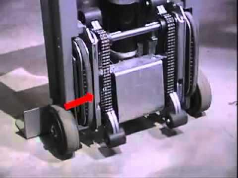 Wesco Stairking Powered Stair Climber Hand Truck Youtube