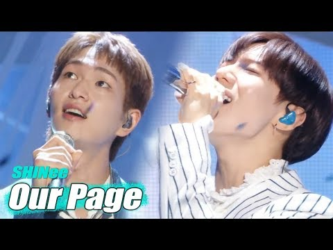 [Comeback Stage] SHINee- Our Page  ,샤이니 - 네가 남겨둔 말 Show Music core 20180630