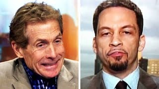Skip Bayless Gets Called Out By Coworker