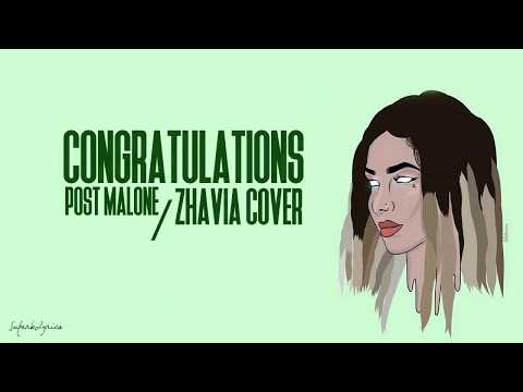 Zhavia - Congratulations (Lyrics)