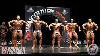 Open Bodybuilding Final Comparisons & Posedown | 2019 Vancouver Pro