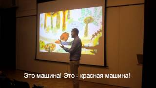 Learn Russian with effective techniques - Talk at Oxford University