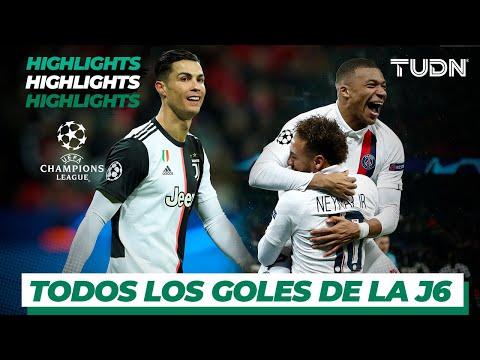Todos los goles de la Jornada 6 de la UEFA Champions League | TUDN