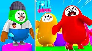 WARNING: IF YOU FALL YOU LOSE! (Fall Guys)