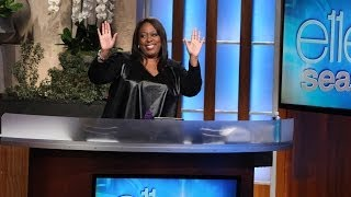 Loni Love Catches Up with Ellen