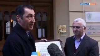 Cem Özdemir'den 'ya dayanışma ziyareti