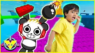 Roblox Pals Brick Battle Let's Play with VTubers Ryan Vs Combo Panda