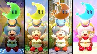 Captain Toad: Treasure Tracker - Super Mario Odyssey Levels! (3 Player)