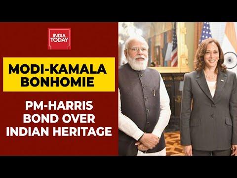 PM Modi meets US Vice Prez Kamala Harris, discusses Covid-19, Afghan crisis with her