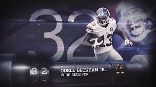 #32 Odell Beckham (WR, Giants)   Top 100 Players of 2015