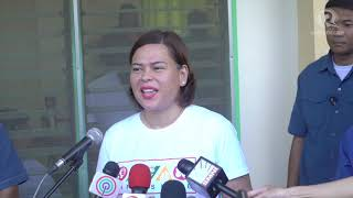 #PHVote: Sara Duterte on elections day in Davao City