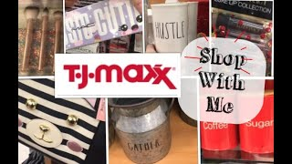 Shop With Me-Clearance+Makeup+Rae Dunn-Quick Trip To TJMAXX