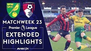 Norwich City v. Bournemouth | PREMIER LEAGUE HIGHLIGHTS | 1/18/2020 | NBC Sports